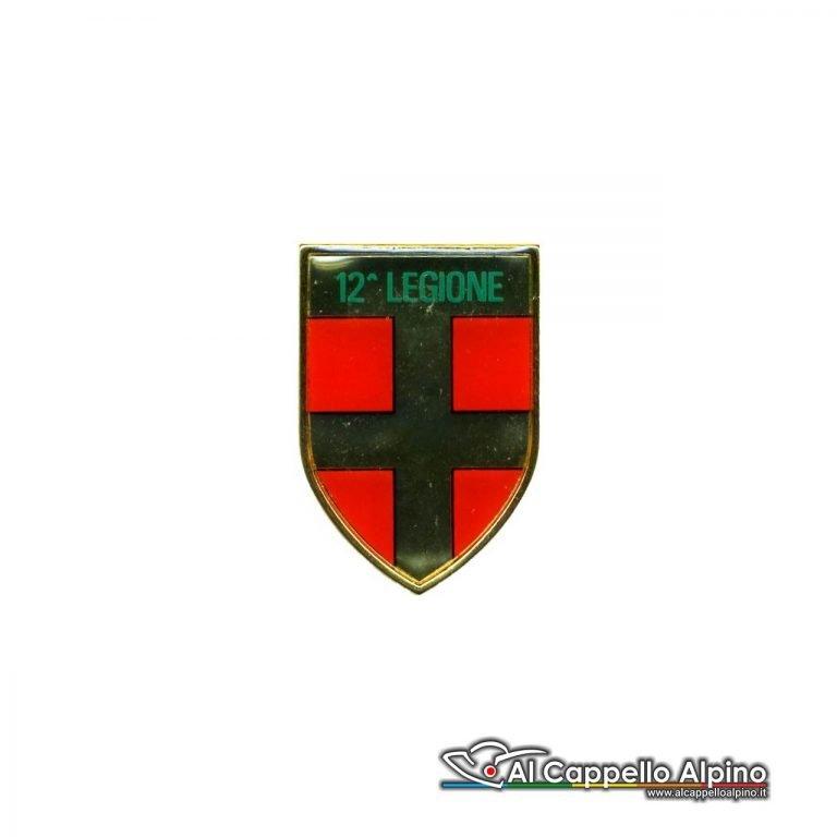 Dgf0212 Distintivo Guardia Di Finanza 12 Legione