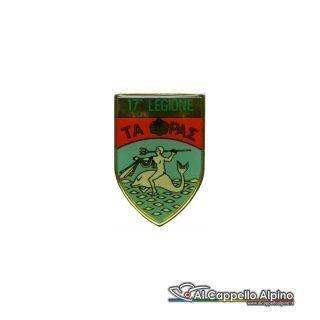 Dgf0217 Distintivo Guardia Di Finanza 17 Legione