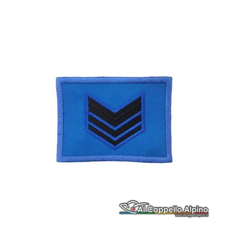 Grado Caporal Maggiore Esercito Italiano Scratch Blu Alta Visibilita
