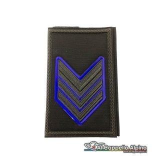 Grado Caporal Maggiore Esercito Italiano Tubolare Nero Alta Visibilita