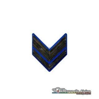 Grado Caporale Esercito Italiano Metallico Alta Visibilita