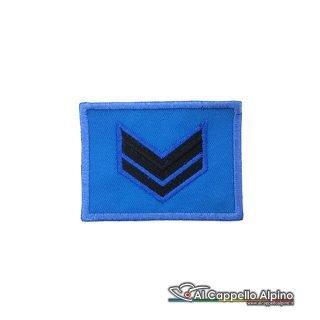 Grado Caporale Esercito Italiano Scratch Blu Alta Visibilita