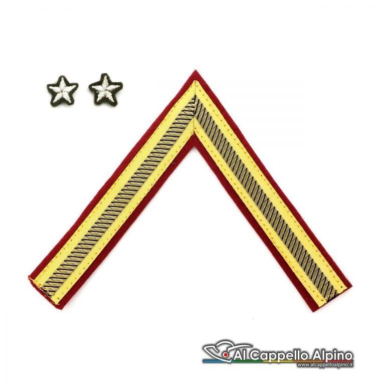Gres0121 Gallone Primo Luogotenente Qualifica Speciale Cappello Alpino