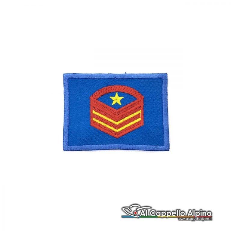 Grado Caporal Maggiore Capo Scelto Qualifica Speciale Esercito Italiano Scratch Blu Alta Visibilita