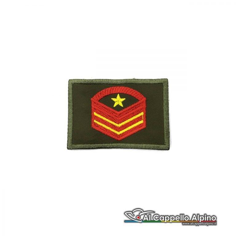 Grado Caporal Maggiore Capo Scelto Qualifica Speciale Esercito Italiano Scratch Od Alta Visibilita