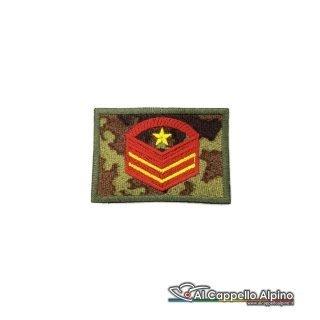 Grado Caporal Maggiore Capo Scelto Qualifica Speciale Esercito Italiano Scratch Vegetato Alta Visibilita