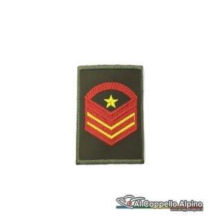 Grado Caporal Maggiore Capo Scelto Qualifica Speciale Esercito Italiano Tubolare Od Alta Visibilita