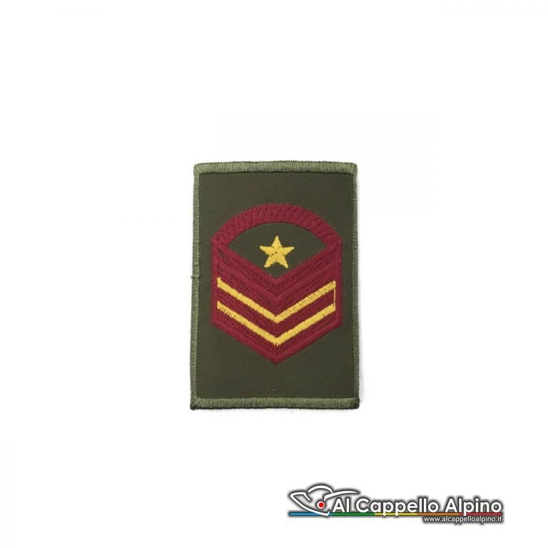 Grado Caporal Maggiore Capo Scelto Qualifica Speciale Esercito Italiano Tubolare Od Bassa Visibilita