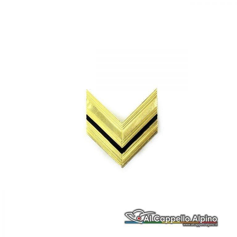 Grado Sergente Esercito Italiano Metallico Alta Visibilita