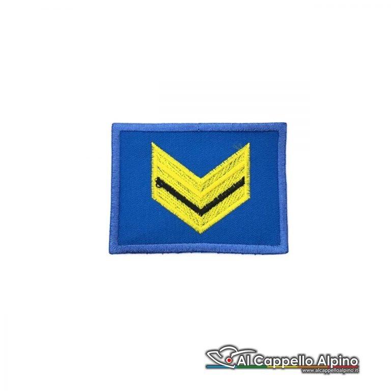 Grado Sergente Esercito Italiano Scratch Blu Alta Visibilita