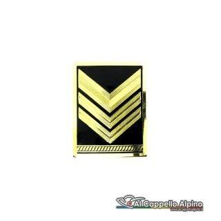 Grado Sergente Maggiore Capo Esercito Italiano Metallico Alta Visibilita