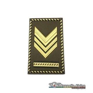 Grado Sergente Maggiore Capo Esercito Italiano Tubolare Coppia Pvc Od Bassa Visibilita