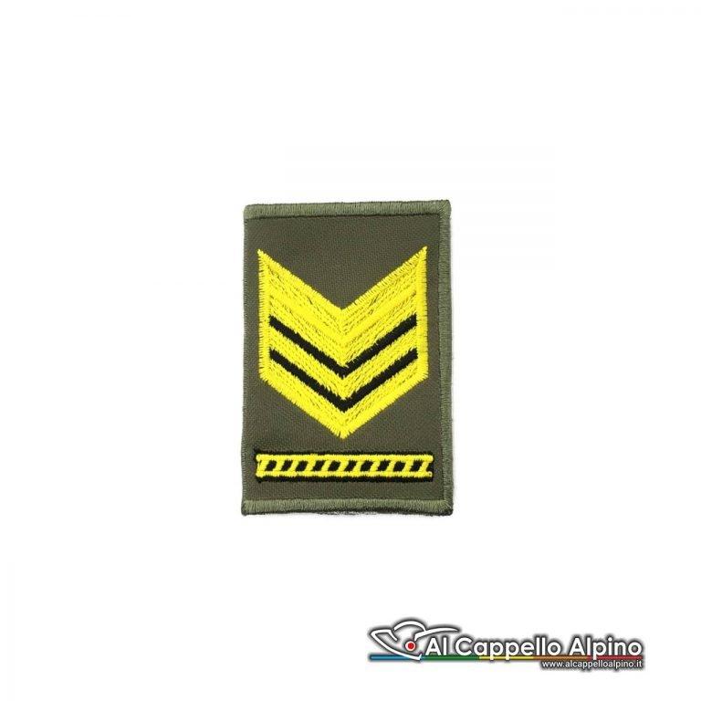Grado Sergente Maggiore Capo Esercito Italiano Tubolare Od Alta Visibilita