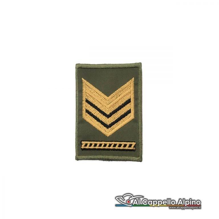 Grado Sergente Maggiore Capo Esercito Italiano Tubolare Od Bassa Visibilita