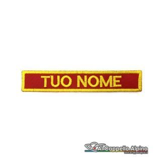 Patch A I B Regione Piemonte Personalizzato