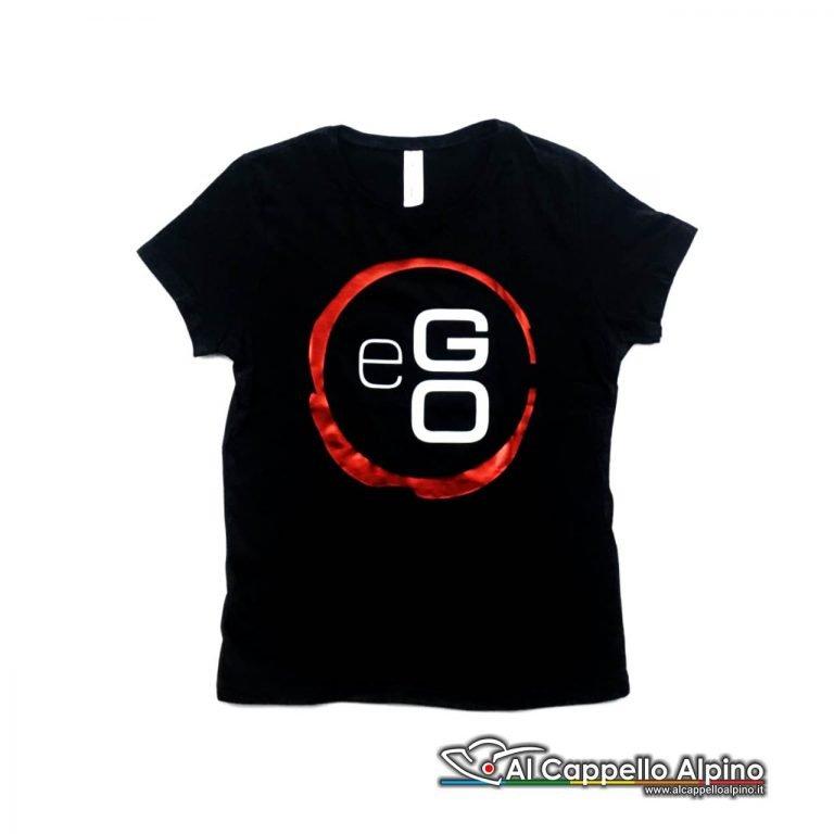 Ego0001 T Shirt Ufficiale Ego Donna