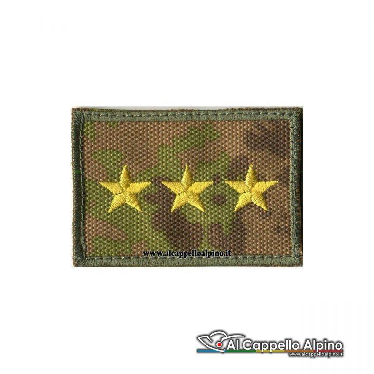 Grei0021 Grado Capitano Esercito Italiano Scratch Vegetato Alta Visibilita