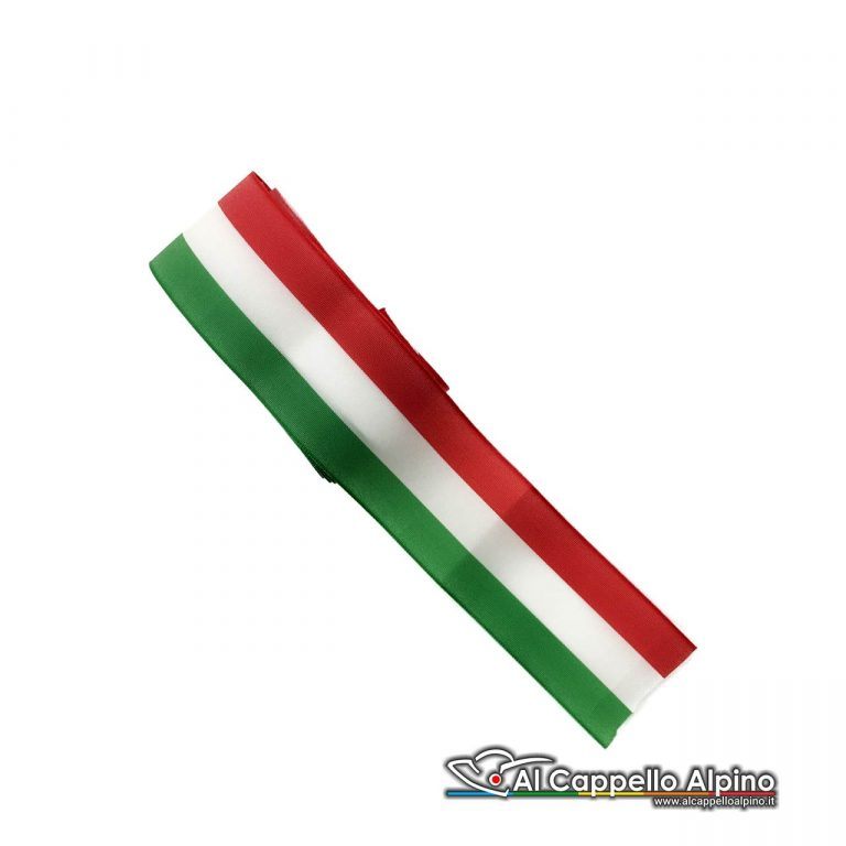 Nas0004 Nastro Tricolore 4cm