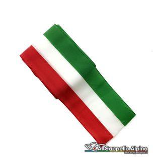 Nas0006 Nastro Tricolore 7cm