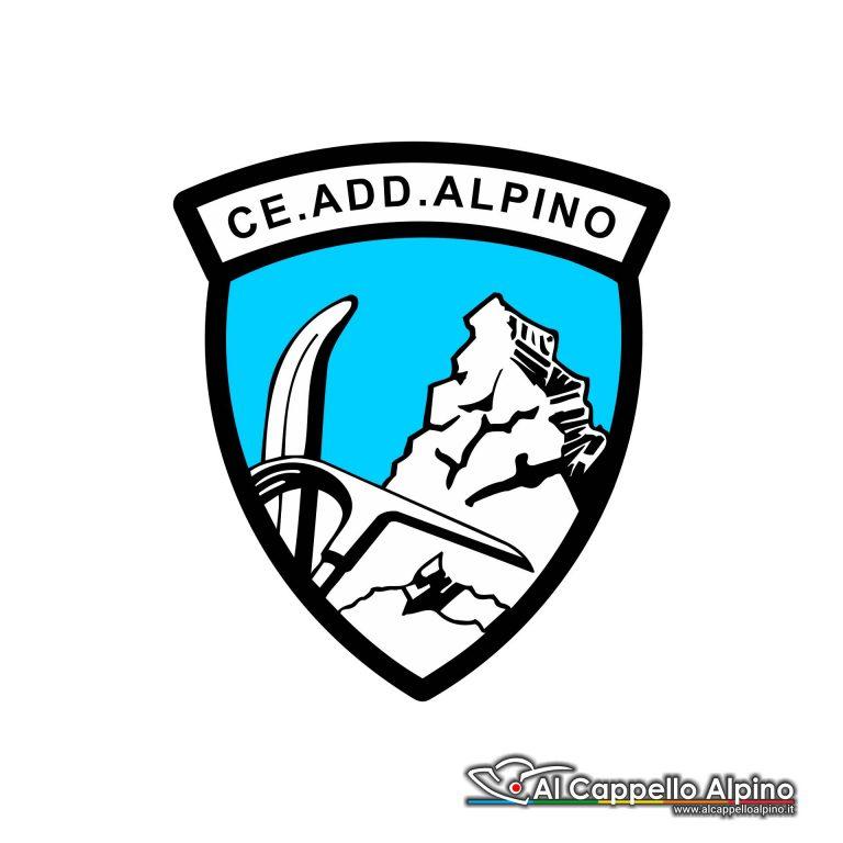 Adalp0007 Adesivo Centro Addestramento Alpino Esterno