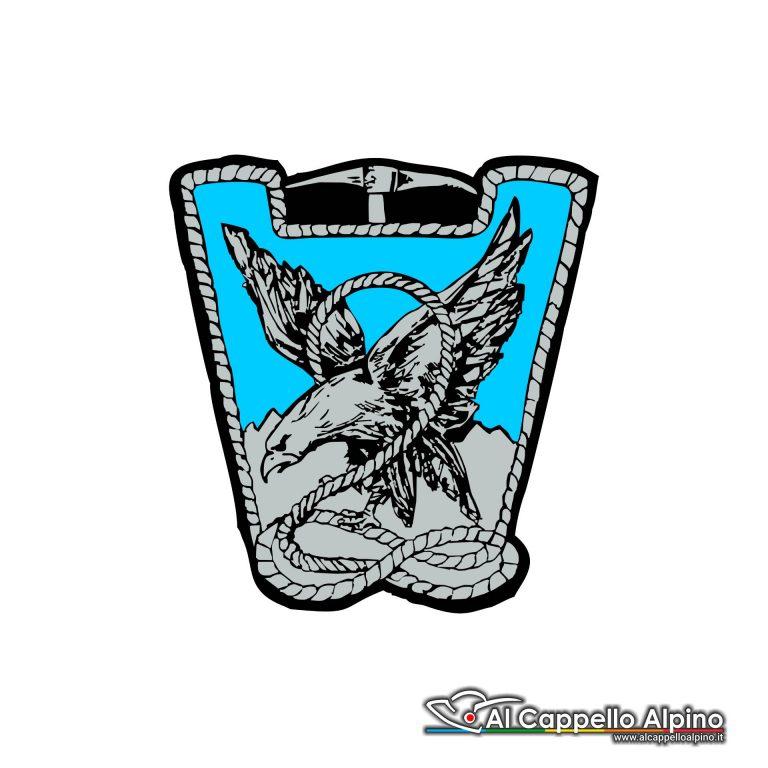 Adalp0009 Adesivo 2 Reggimento Alpini Esterno
