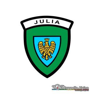 Adalp9002 Adesivo Brigata Julia Esterno