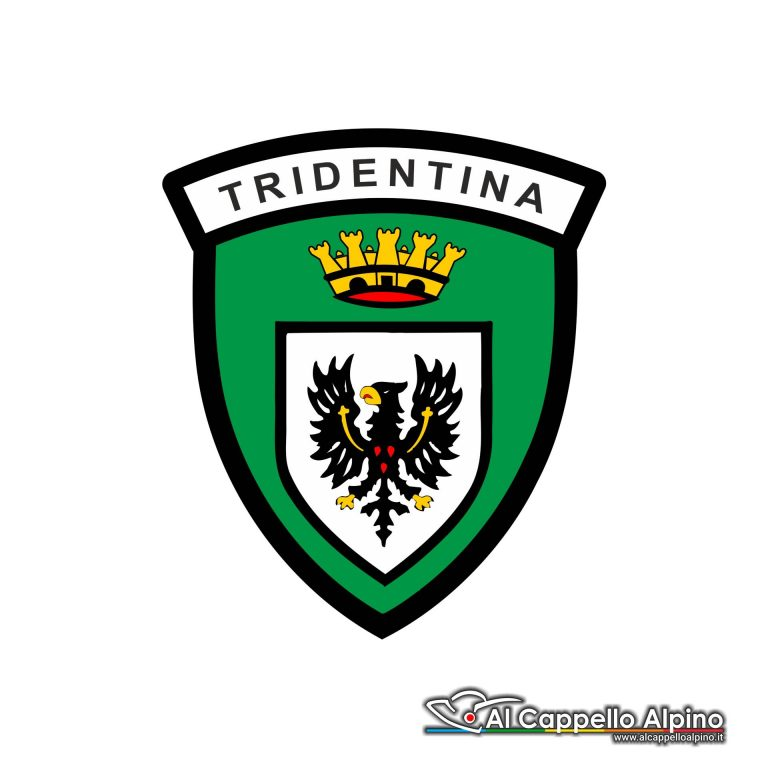 Adalp9003 Adesivo Brigata Tridentina Esterno
