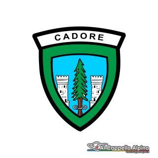 Adalp9004 Adesivo Brigata Cadore Esterno