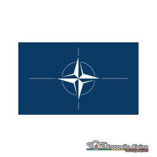 Adban0003 Adesivo Bandiera Nato Esterno