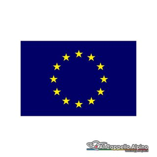 Adban0006 Adesivo Bandiera Europa Interno