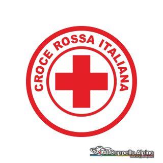 Adcri0001 Adesivo Croce Rossa Italiana Esterno