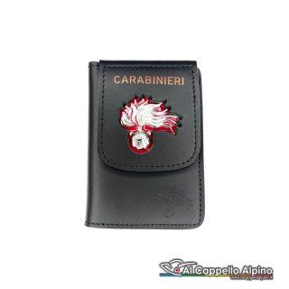 1WD/00A-Portatessera portafoglio Carabinieri (Argento)