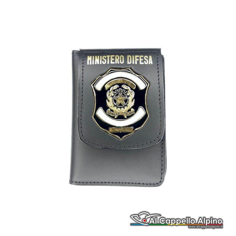 1WD/106-Portatessera portafoglio Ministero della Difesa