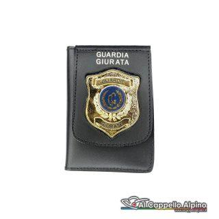 1WD/110-Portatessera portafoglio Guardie Giurate
