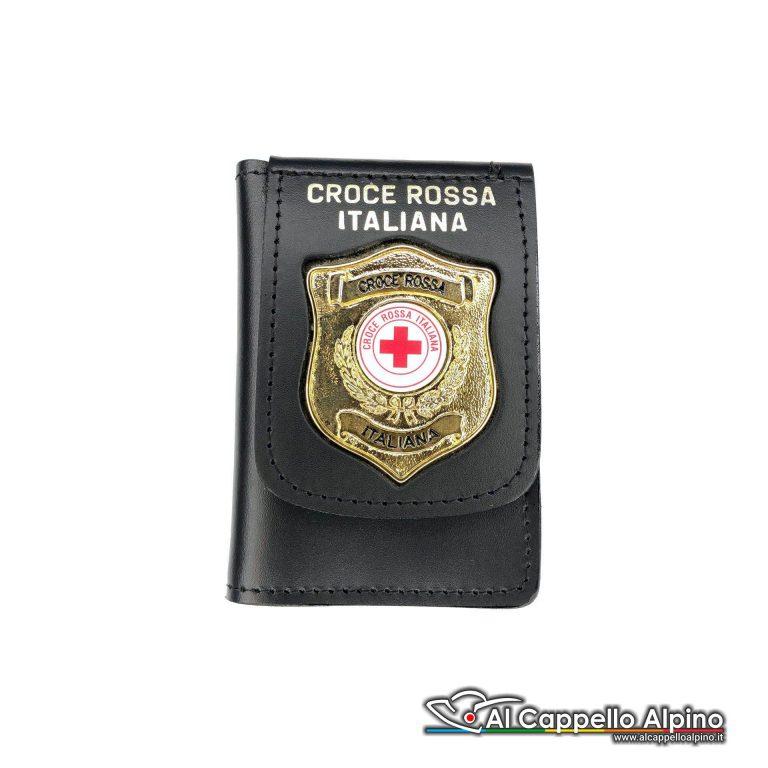 1WD/117-Portatessera portafoglio Croce Rossa Italiana