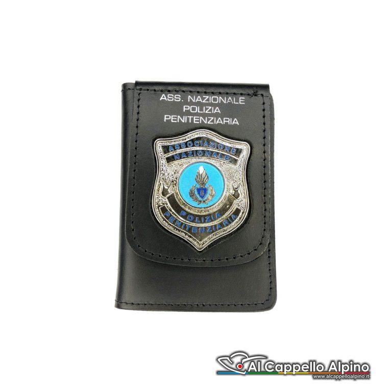 1WD/130-Portatessera portafoglio Associazione Nazionale Polizia Penitenziaria