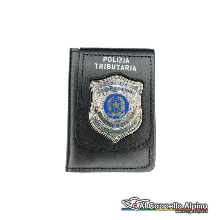 1WD/134-Portatessera portafoglio Polizia Tributaria Agenzia delle Entrate