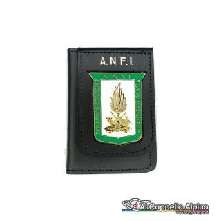 1WD/144-Portatessera portafoglio Associazione Nazionale Guardia di Finanza