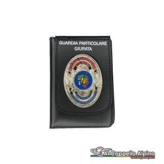 1WD/148-Portatessera portafoglio Guardia Particolare Giurata