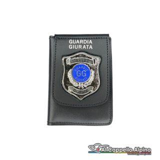 1WD/152-Portatessera portafoglio Guardie Giurate