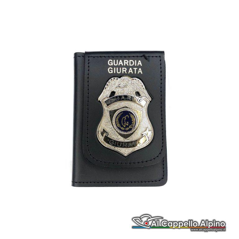 1WD/27-Portatessera portafoglio Guardie Giurate