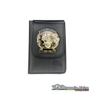 1WD/40-Portatessera portafoglio Carabinieri Operativi (Oro)