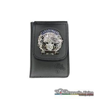 1WD/40A-Portatessera portafoglio Carabinieri Operativi (Argento)