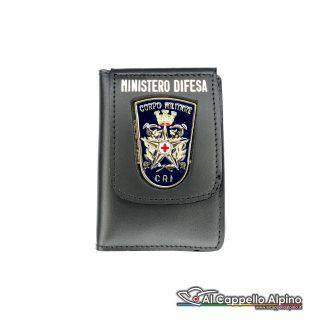 1WD/52-Portatessera portafoglio Croce Rossa Militare