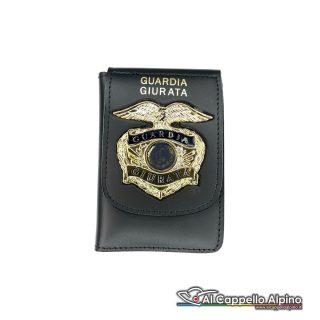 1WD/73-Portatessera portafoglio Guardia Giurata