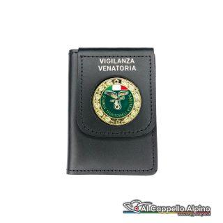 1WD/85-Portatessera portafoglio Guardie Territoriali Venatorie