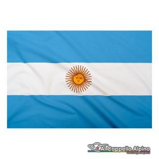 Bandiera Argentina realizzata in poliestere leggero