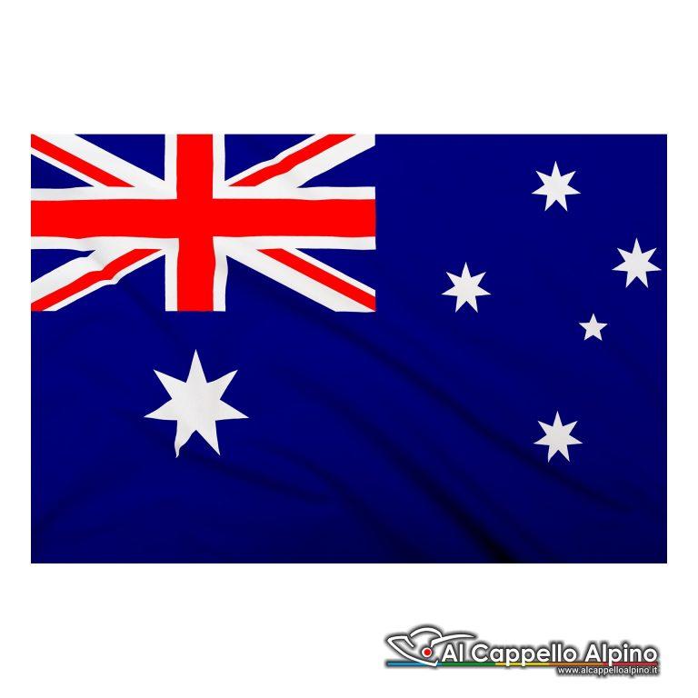 Bandiera Australia realizzata in poliestere leggero