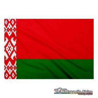 Bandiera Bielorussia realizzata in poliestere leggero