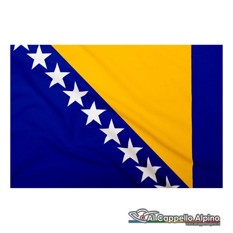 Bandiera Bosnia Herzegovina In Poliestere Leggero